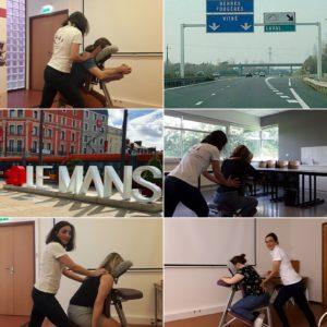 Massage en entreprise au Mans de Relâche'Mans
