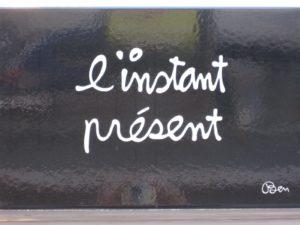massage au mans, vivre l' instant présent