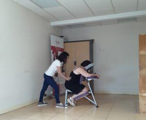 massage au bureau au Mans
