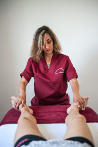 le lacher prise grâce au massage